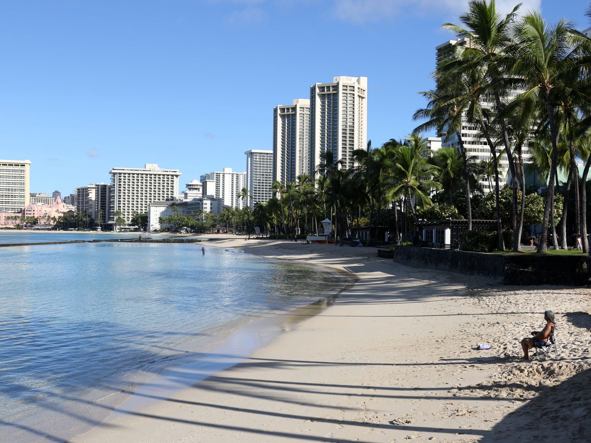 Visitors are returning to the islands, but many hotels haven't yet reopened