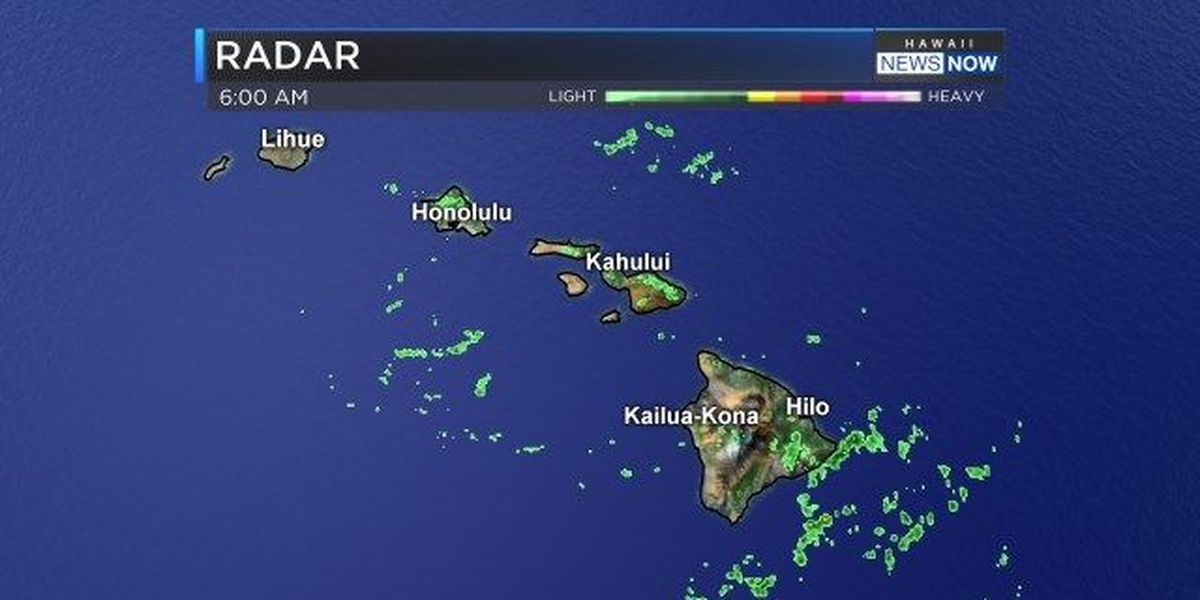Forecast: Wet, breezy conditions for the weekend