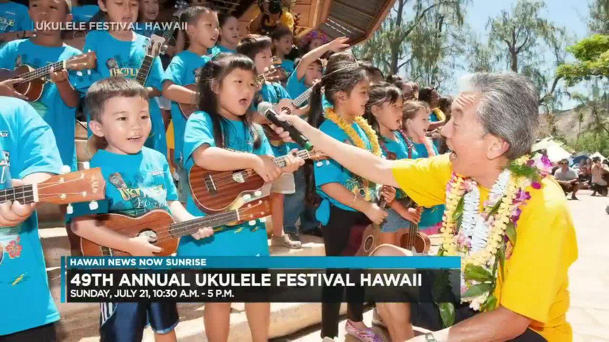 49th annual Ukulele Festival to kick off Sunday