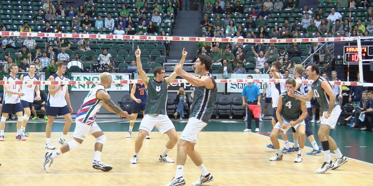 Rainbow Warrior volleyball team ranked No. 5 in AVCA Top 15 Coaches Poll