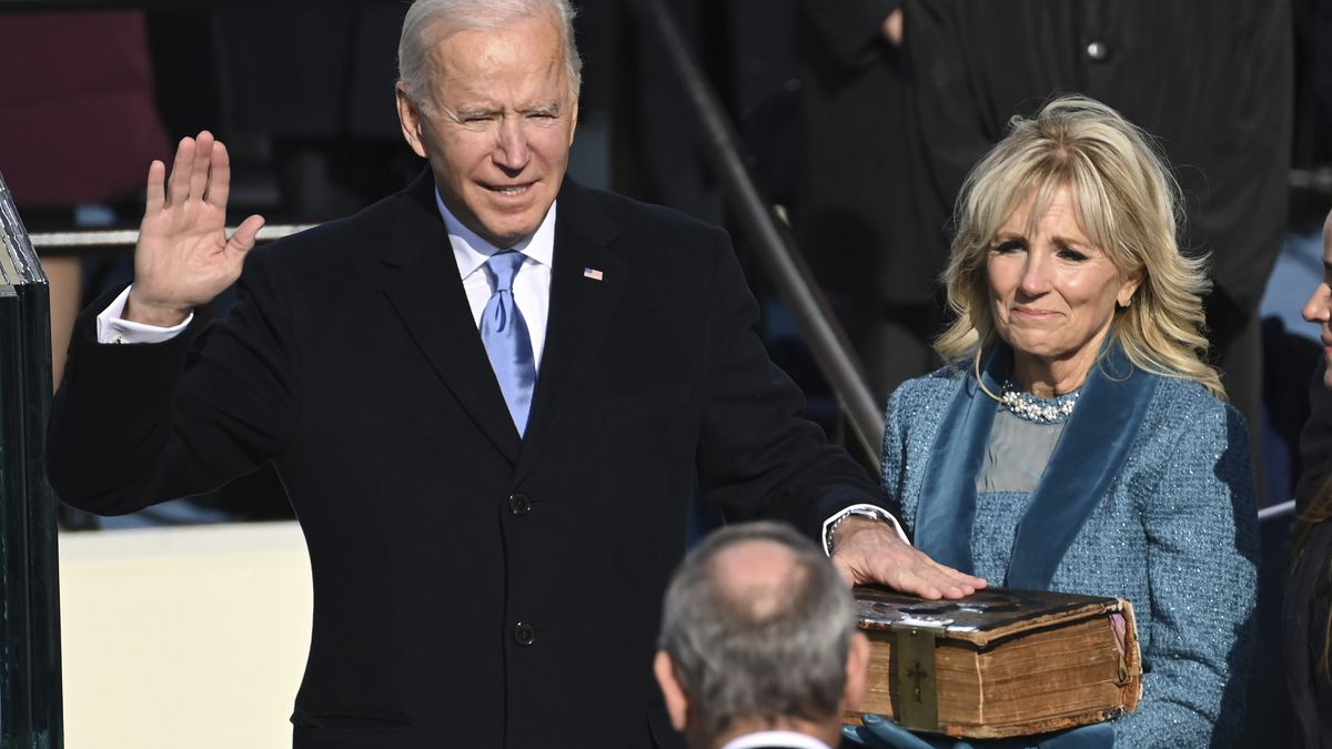 LIVE: Biden takes the helm, appeals for unity to take on crises