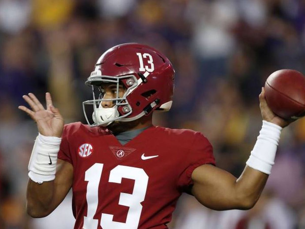 Tagovailoa listed as co-favorite for 2019 Heisman Trophy