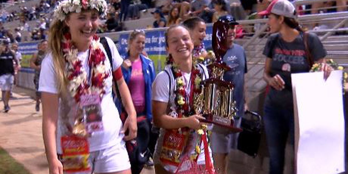 Hawaii Prep Academy wins Division II girls soccer crown 4-0