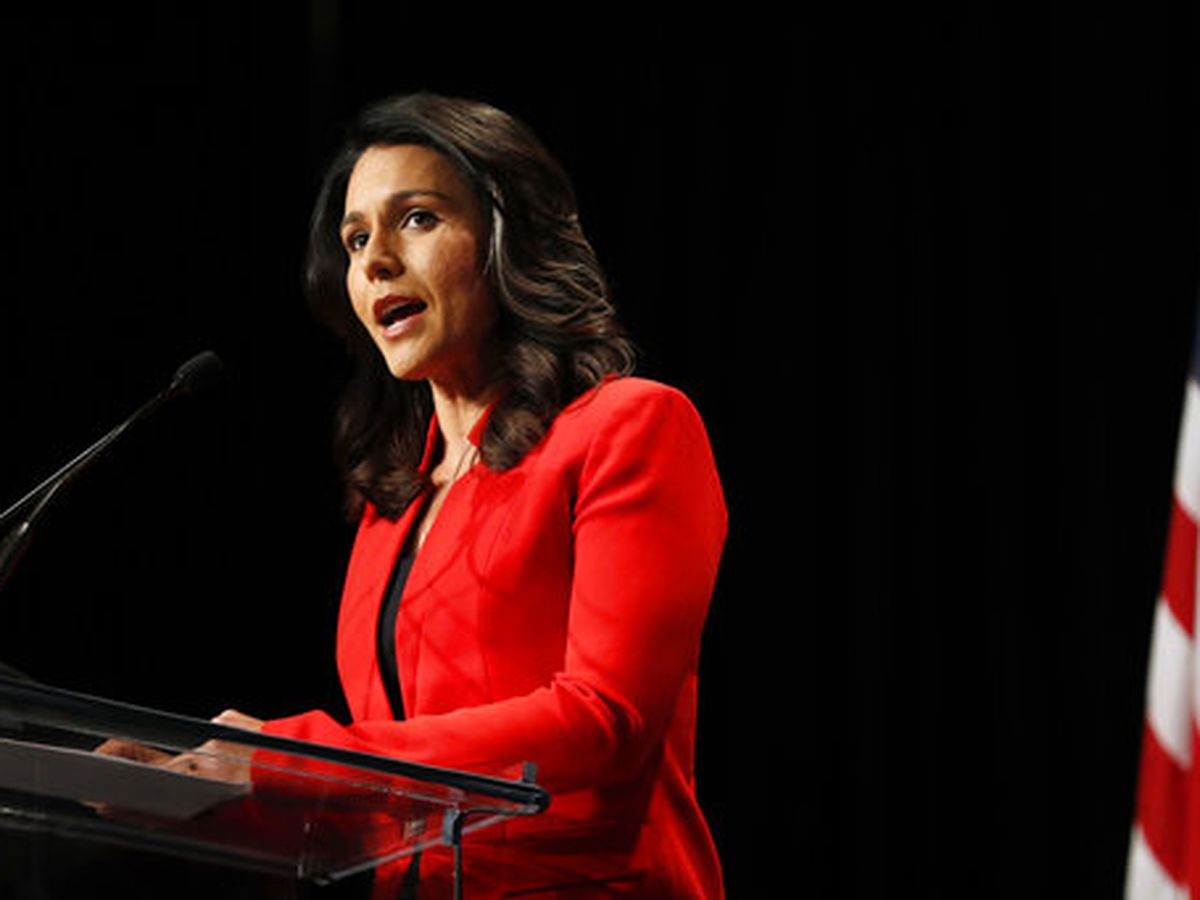 Presidential candidate Tulsi Gabbard makes the cut for first presidential debate