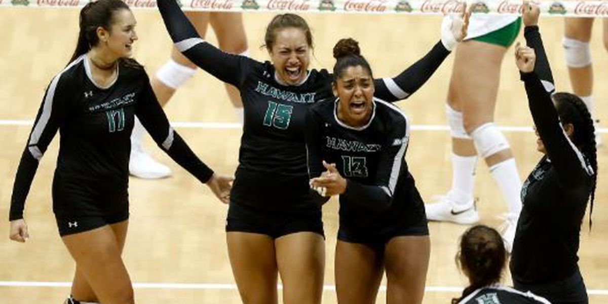 Wahine lose heartbreaker to No. 12 Oregon in five-set thriller