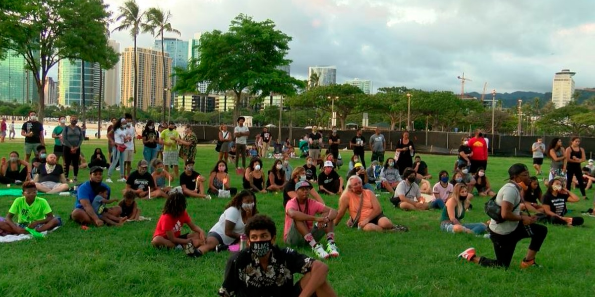 Candlelight vigil among ways Hawaii shows support for Black Lives Matter