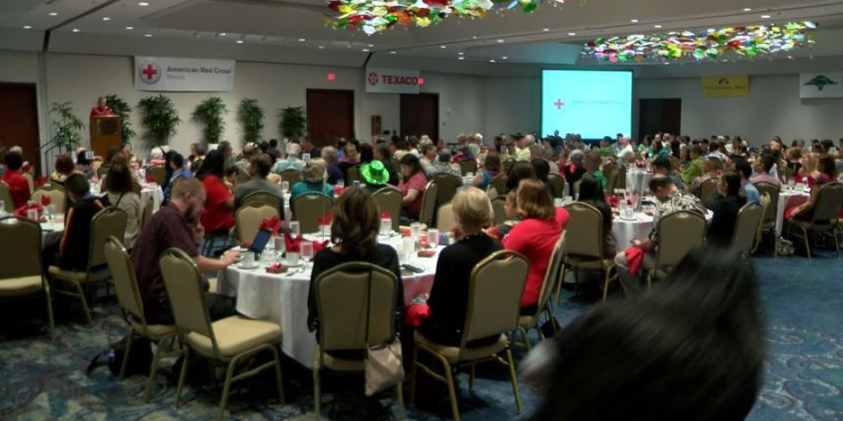 America Red Cross Hawaii honors volunteers for their work in the community