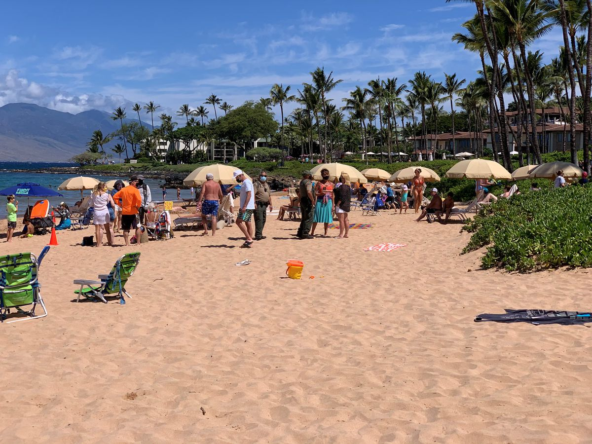 Battle over Maui beaches heats up as more visitors flock to Valley Isle