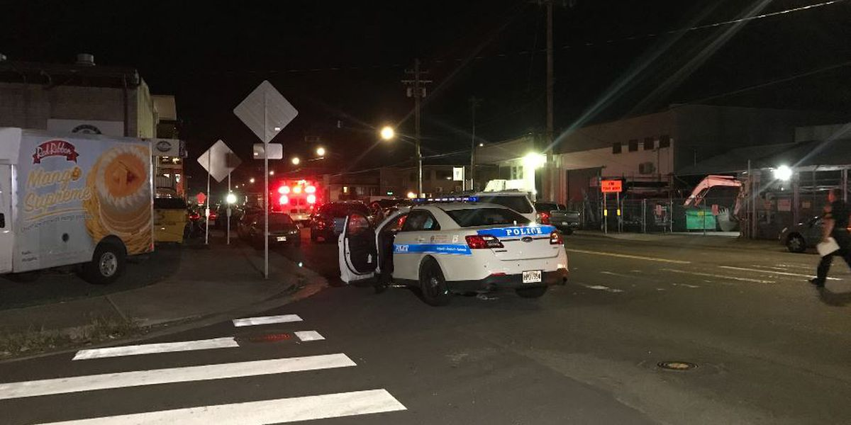Police respond to a fight at a suspected Kalihi game room