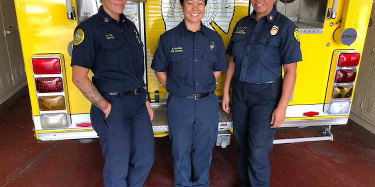 23 Honolulu firefighters are women. Meet 4 at one of the busiest fire stations on Oahu