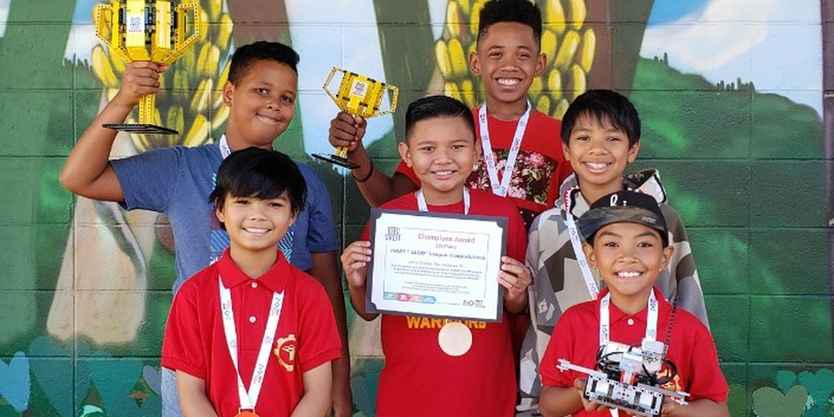 These kids from Kalihi are taking on the world ... with robotics