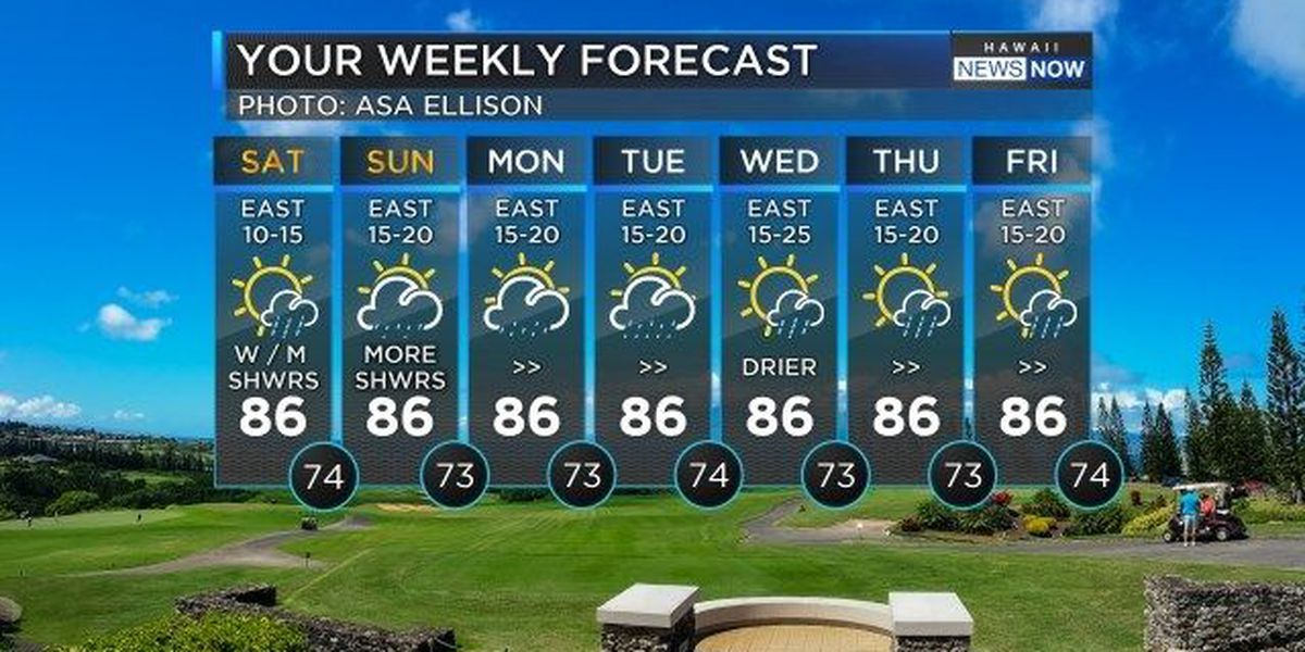 Forecast: Look forward to a dry, gorgeous weekend