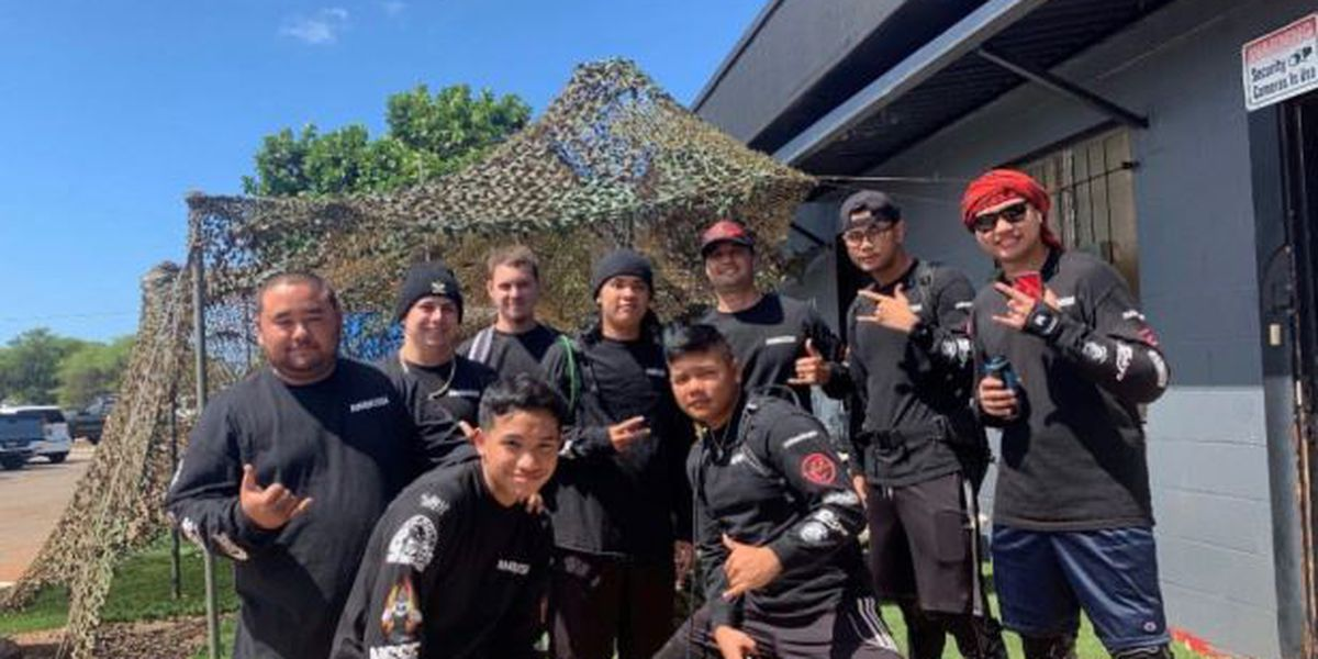 Hawaii's only professional airsoft team takes aim at national tournament