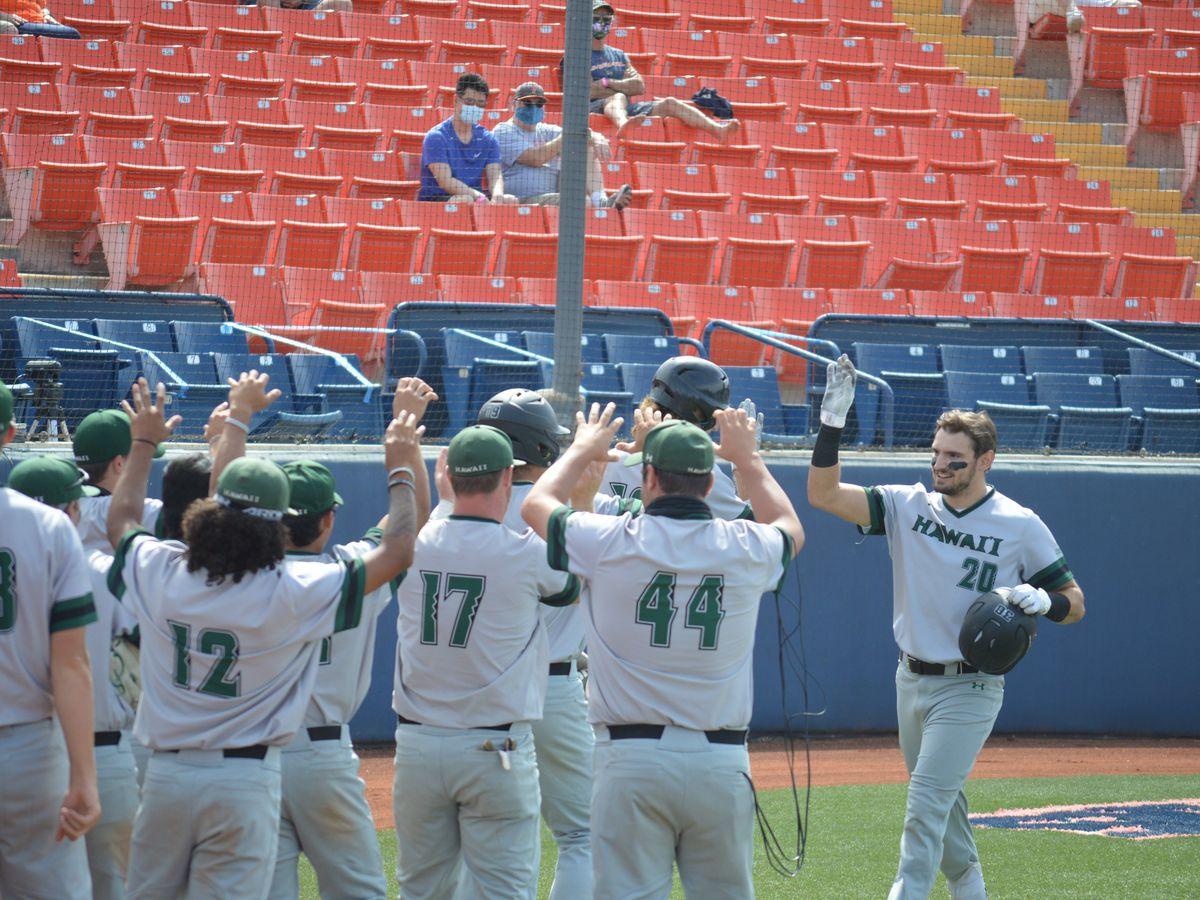 Hawaii baseball gets road series win over Cal State Fullerton