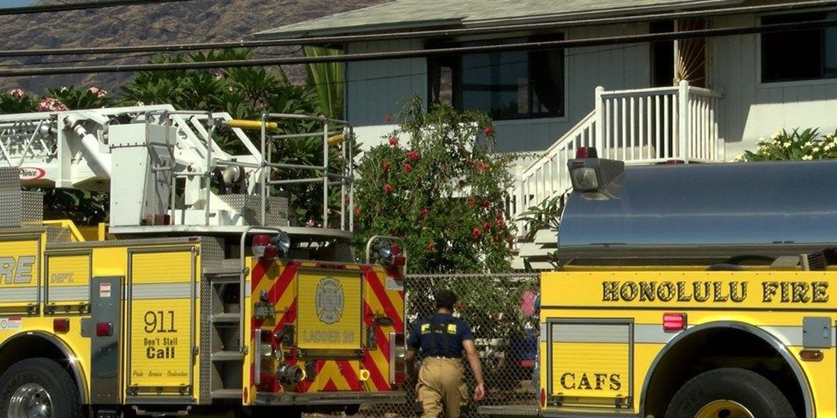 Cooking on unattended stove to blame for Makaha house fire