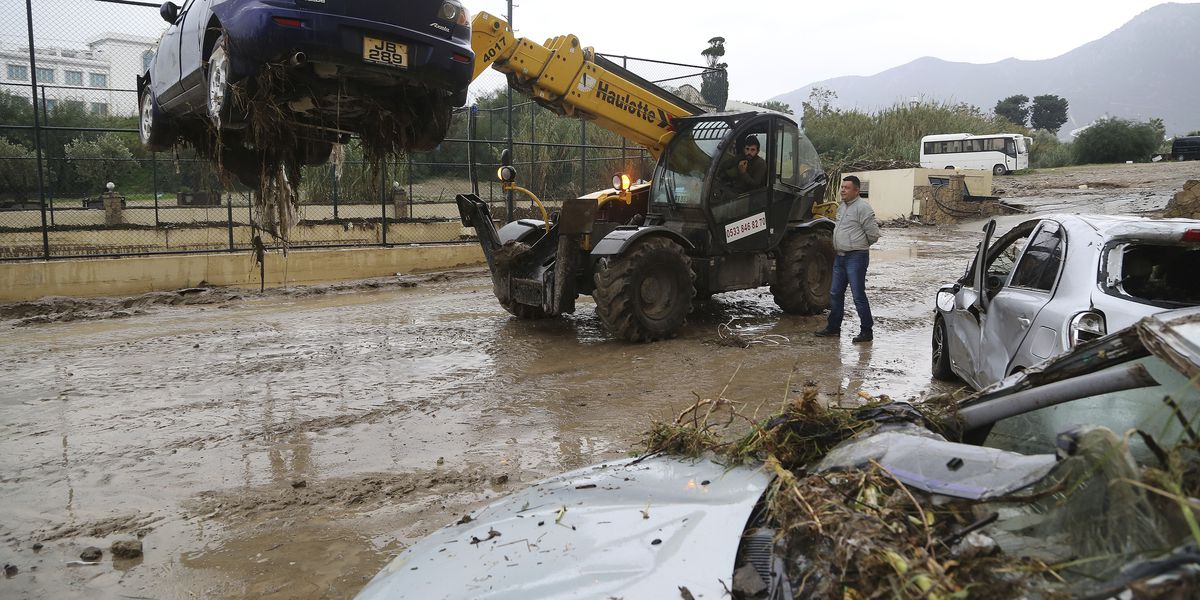 Turkish Cypriot police: 3 dead, 1 missing in flash flood