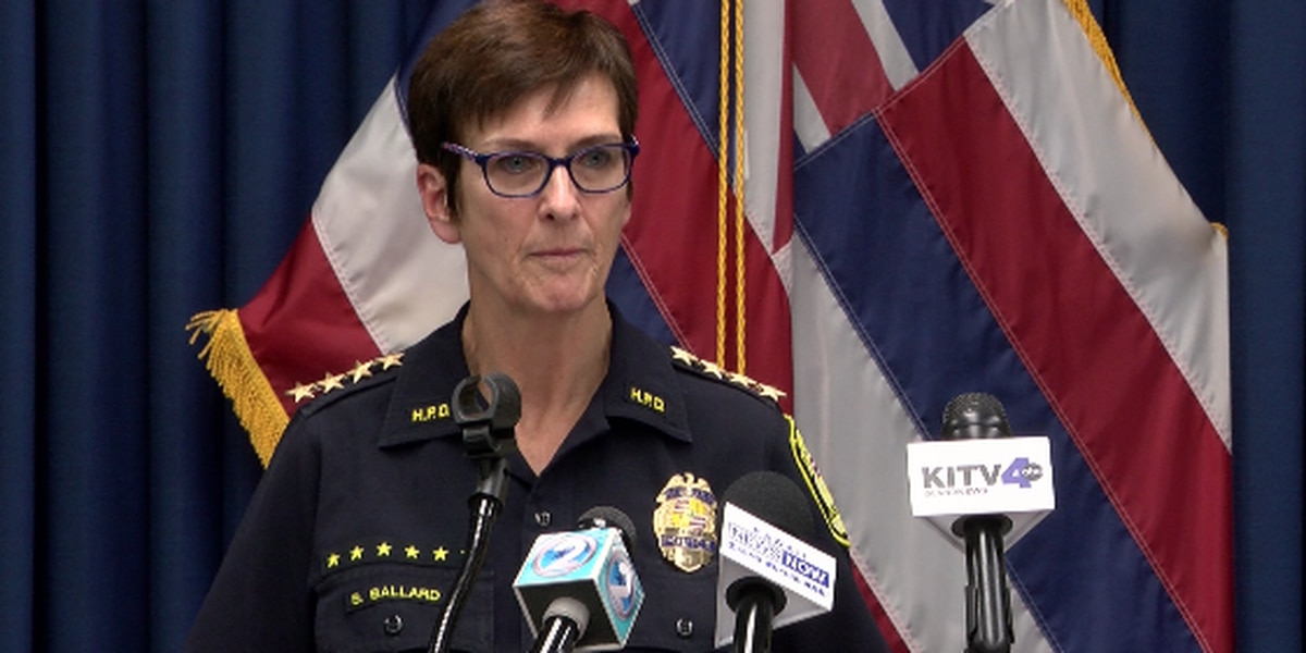 Saying she no longer has commission's trust, HPD chief announces she'll step down