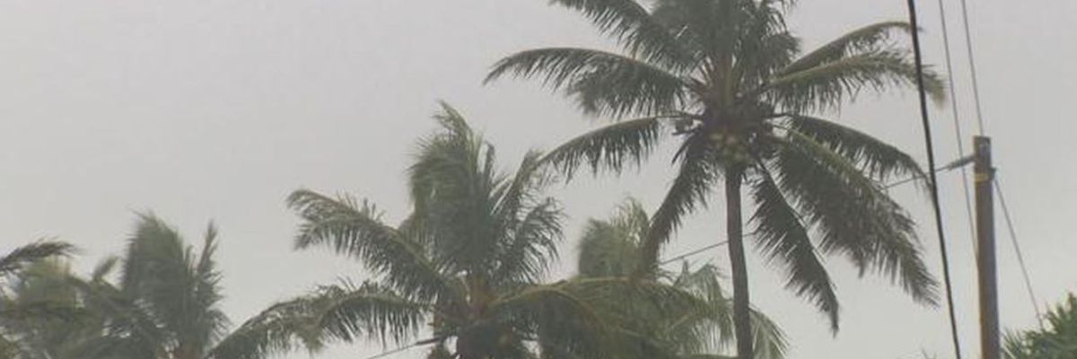 Flash flood warning extended for Kauai as heavy rains drench island