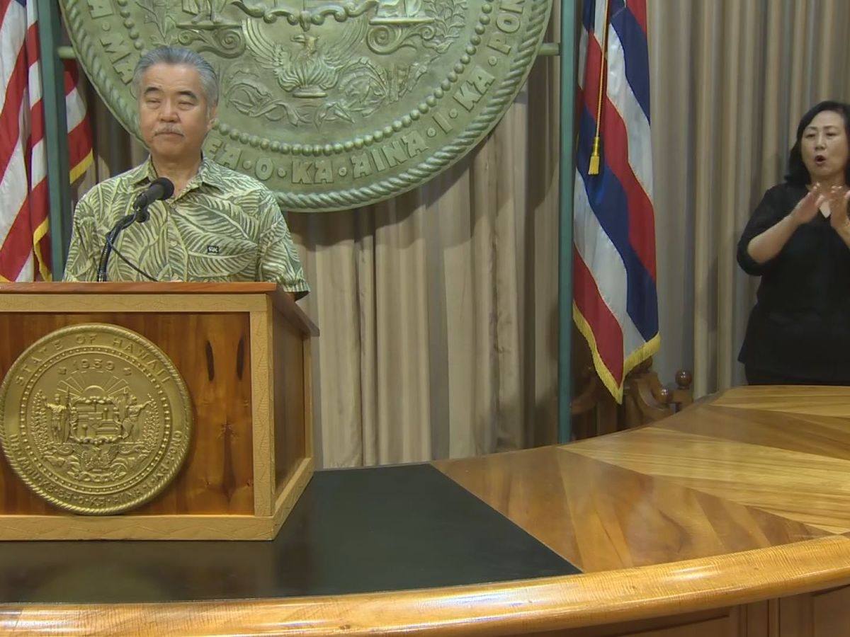 Civil Beat/HNN poll: Amid state's pandemic response, voters have negative view of Ige