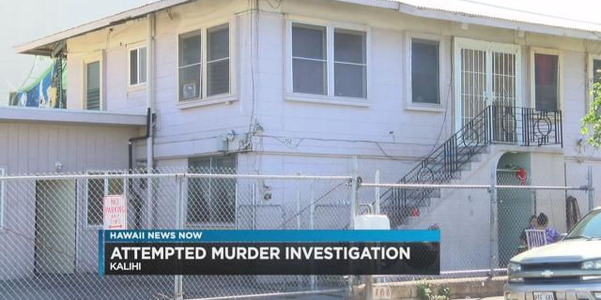 Police arrest 24-year-old in connection with Kalihi attempted murder