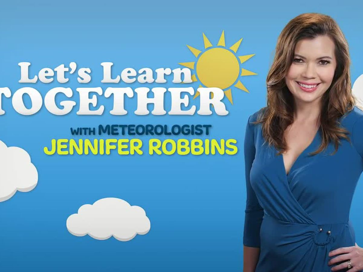 Kids stuck at home? Let's learn about the weather together!
