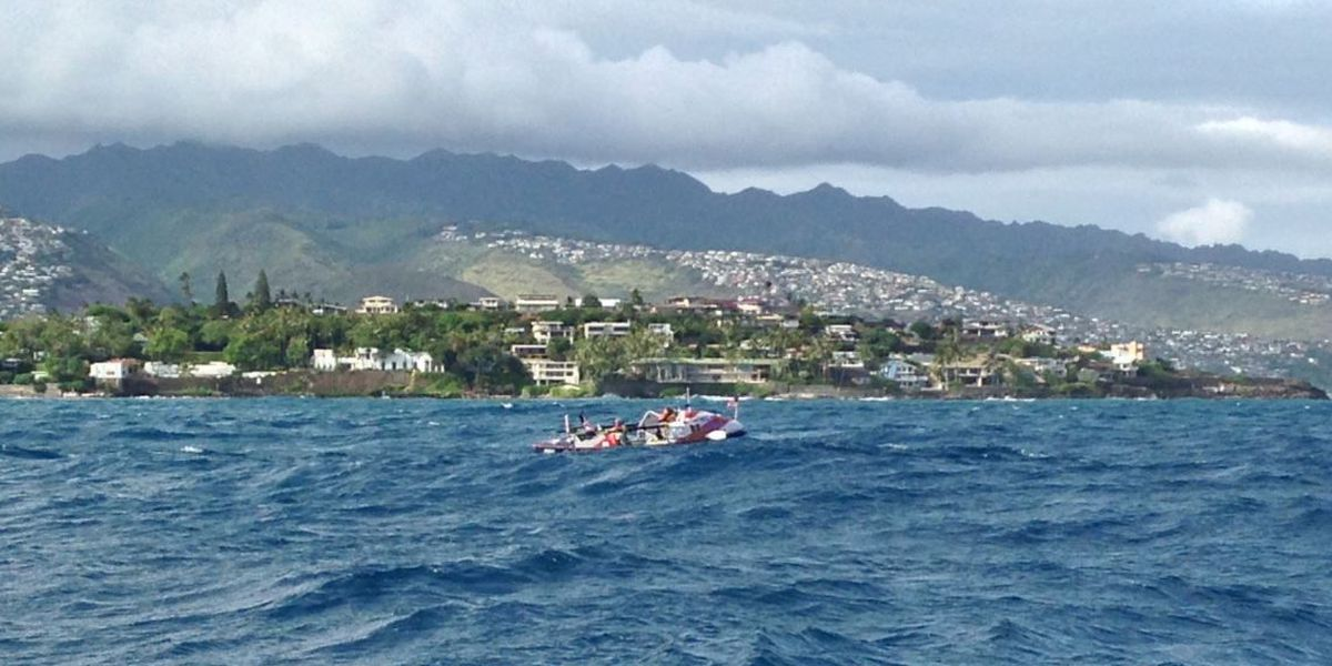 Paralympian completes trans-Pacific journey