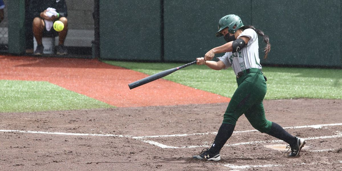 Wahine softball get road series victory over Cal Poly