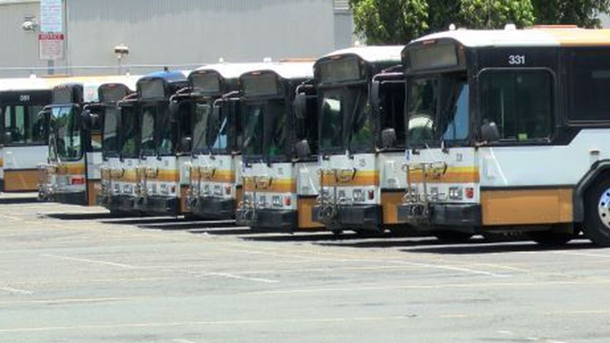 City to reduce bus service as stay-at-home order remains in effect
