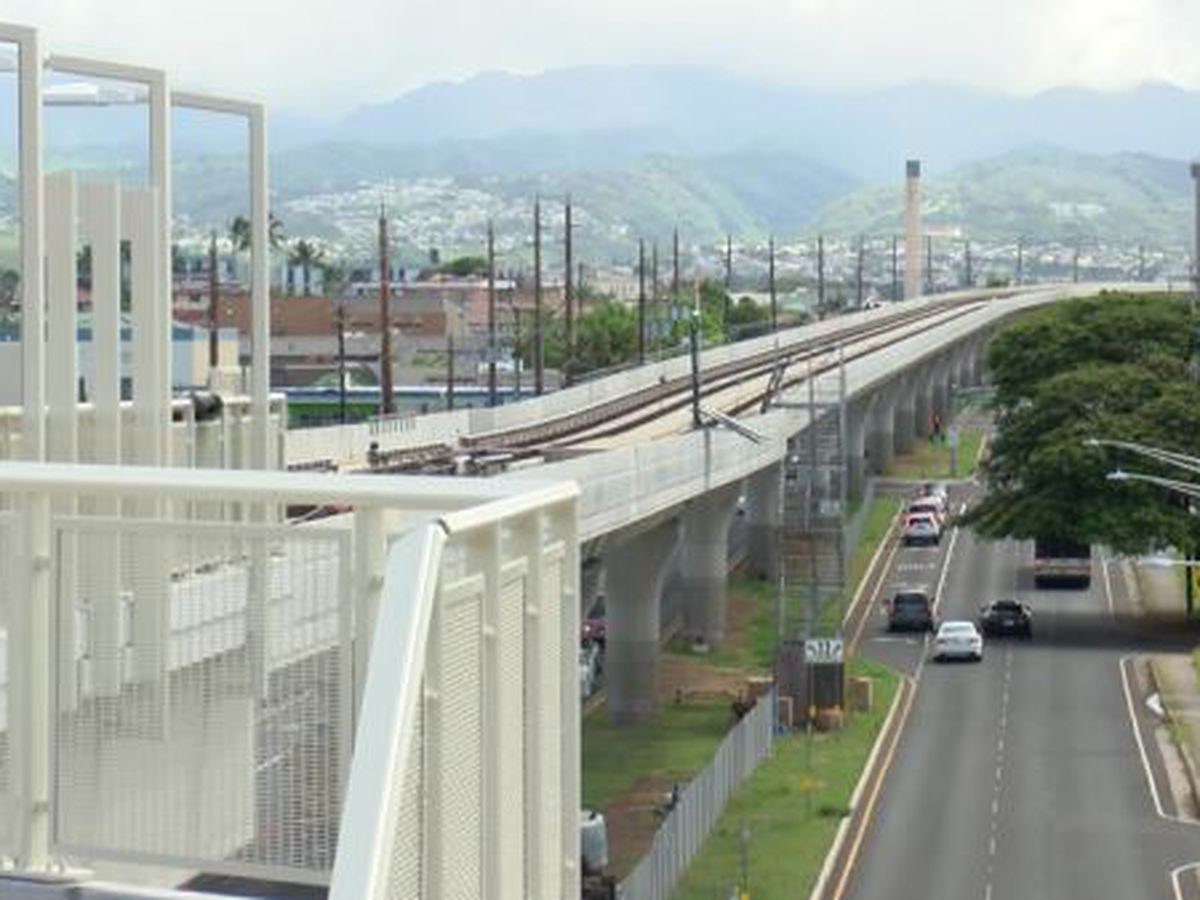 3 West Oahu rail stations nearly complete
