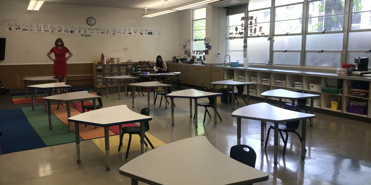 Downtown private school prepares to reopen for summer classes