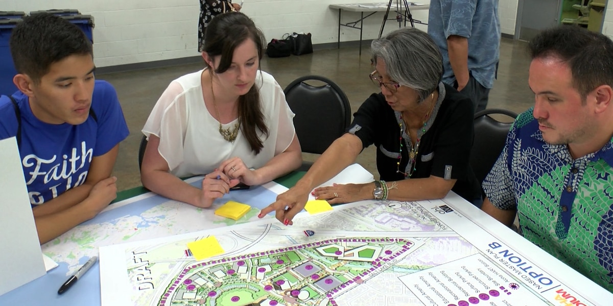Options for the future of Aloha Stadium are laid out at a community meeting