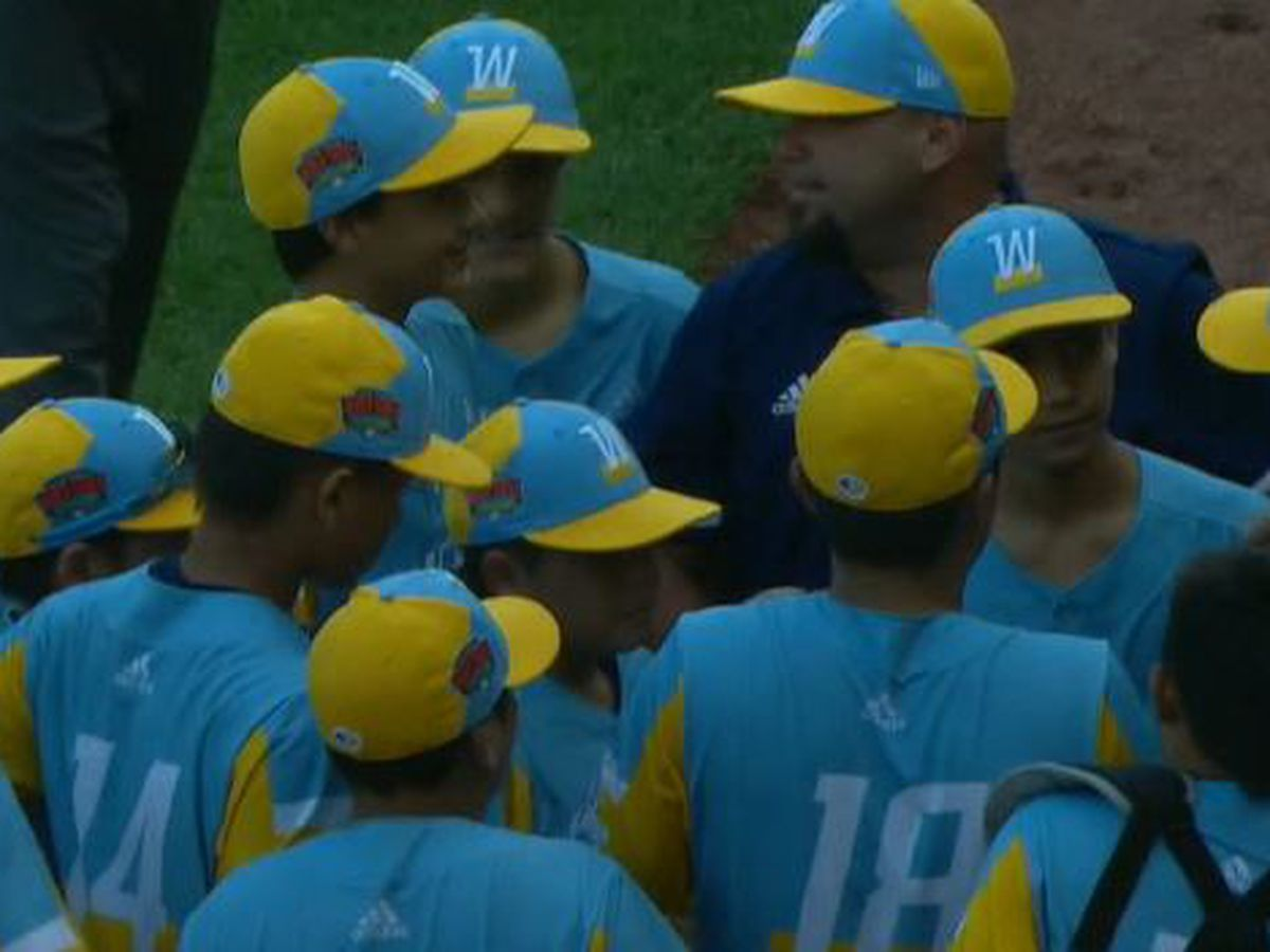 Team Hawaii defeats Louisiana to advance in Little League World Series