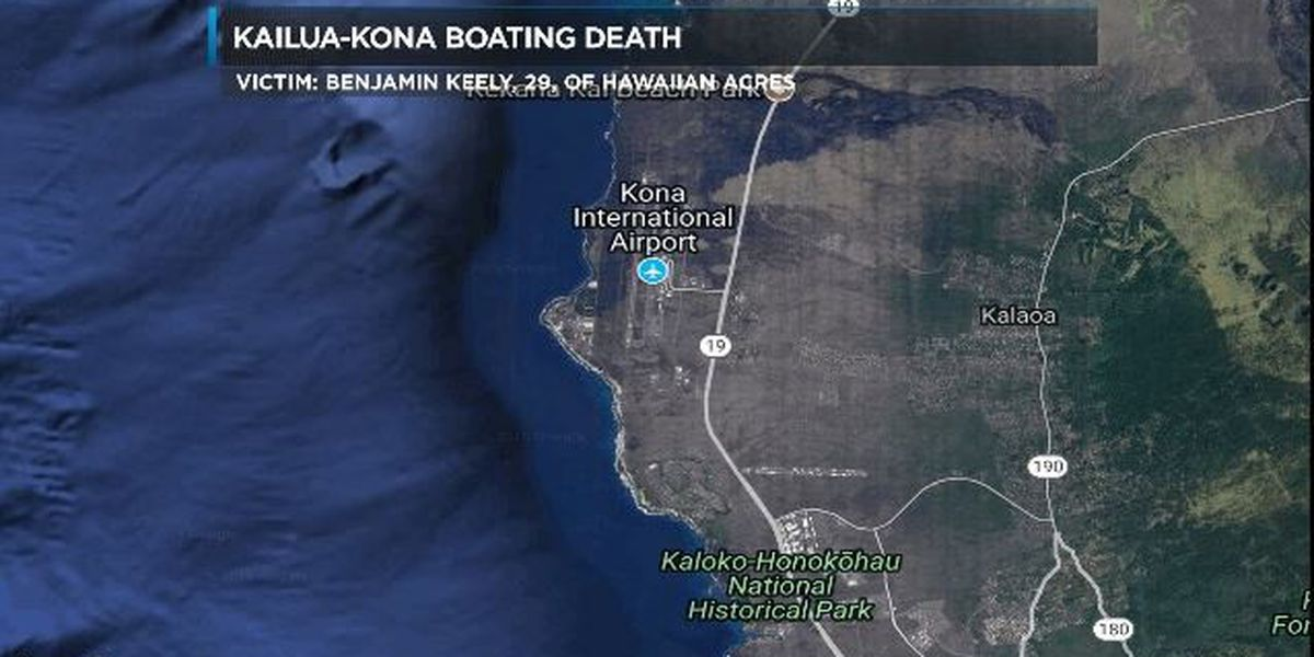 Man killed in a Big Island boating accident identified
