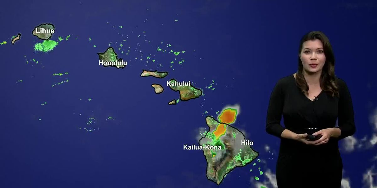 Tracking more rain for Aloha Friday and feeling more humid