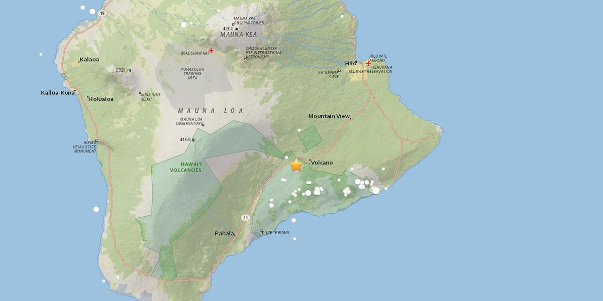 5.5-magnitude quake rattles Big Island; No tsunami generated