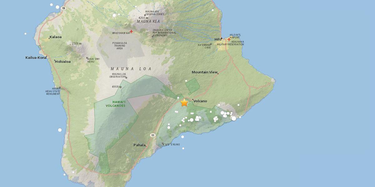 5.5-magnitude quake rattles Big Island; No tsunami generated