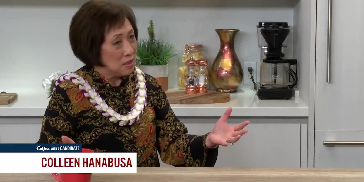 Coffee with a Candidate: Colleen Hanabusa, Candidate for Honolulu Mayor
