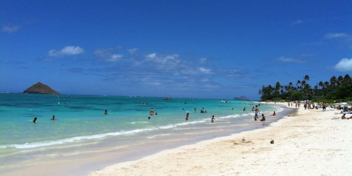 High levels of bacteria detected at Lanikai Beach