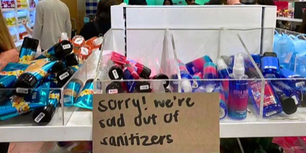 Price gouging a growing concern as consumers scramble for toilet paper, hand sanitizer