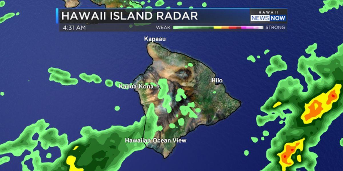 Flash flood watch issued for Big Island