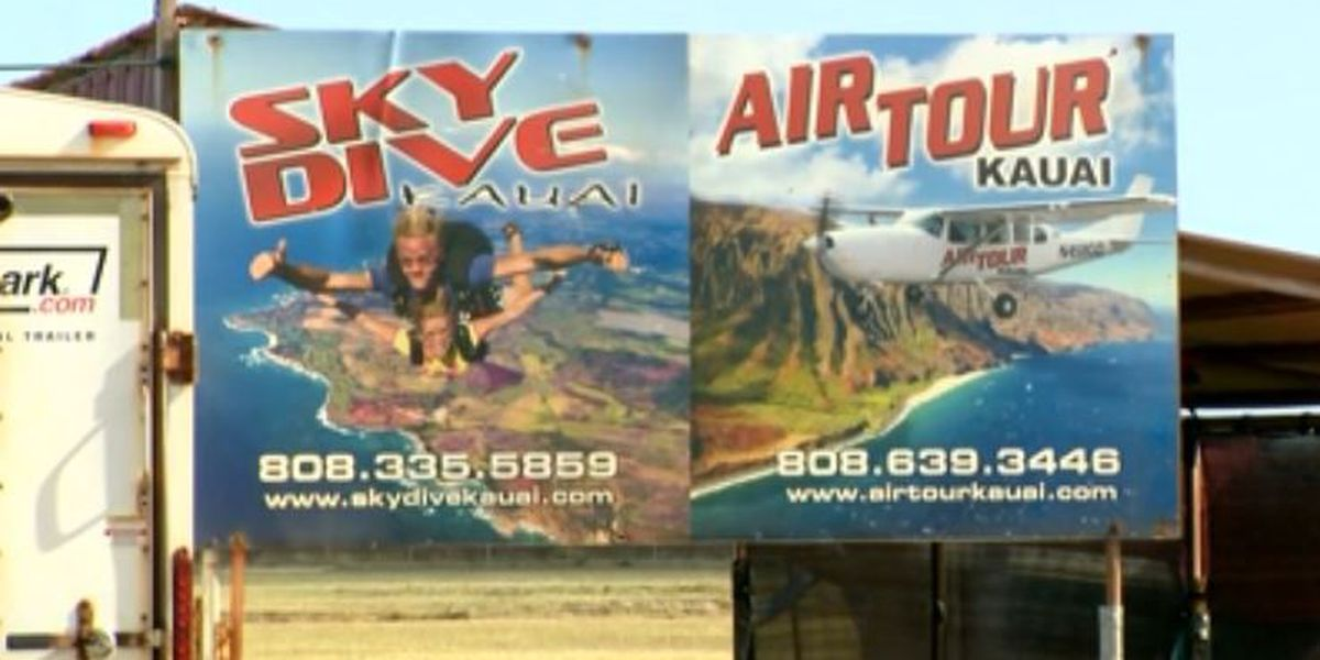 KFD: 4 skydivers jump from plane after mid-air scare over Kauai