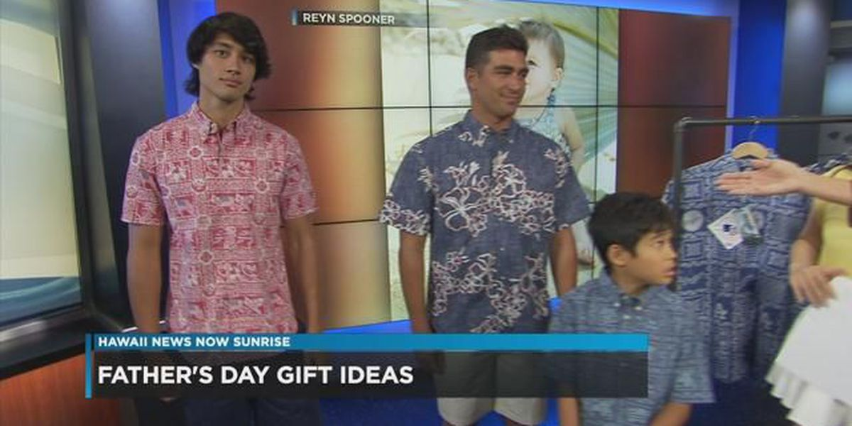 Reyn Spooner offers discount and ideas for Father's Day