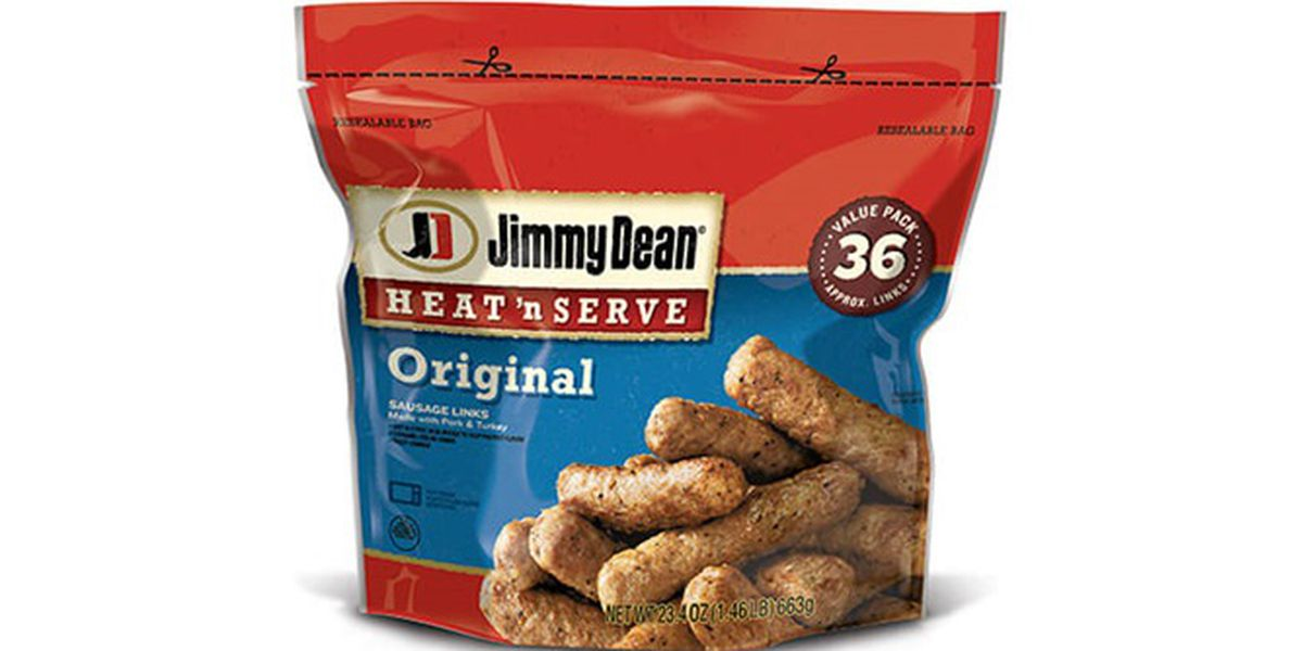 Jimmy Dean sausages recalled after metal bits found in them