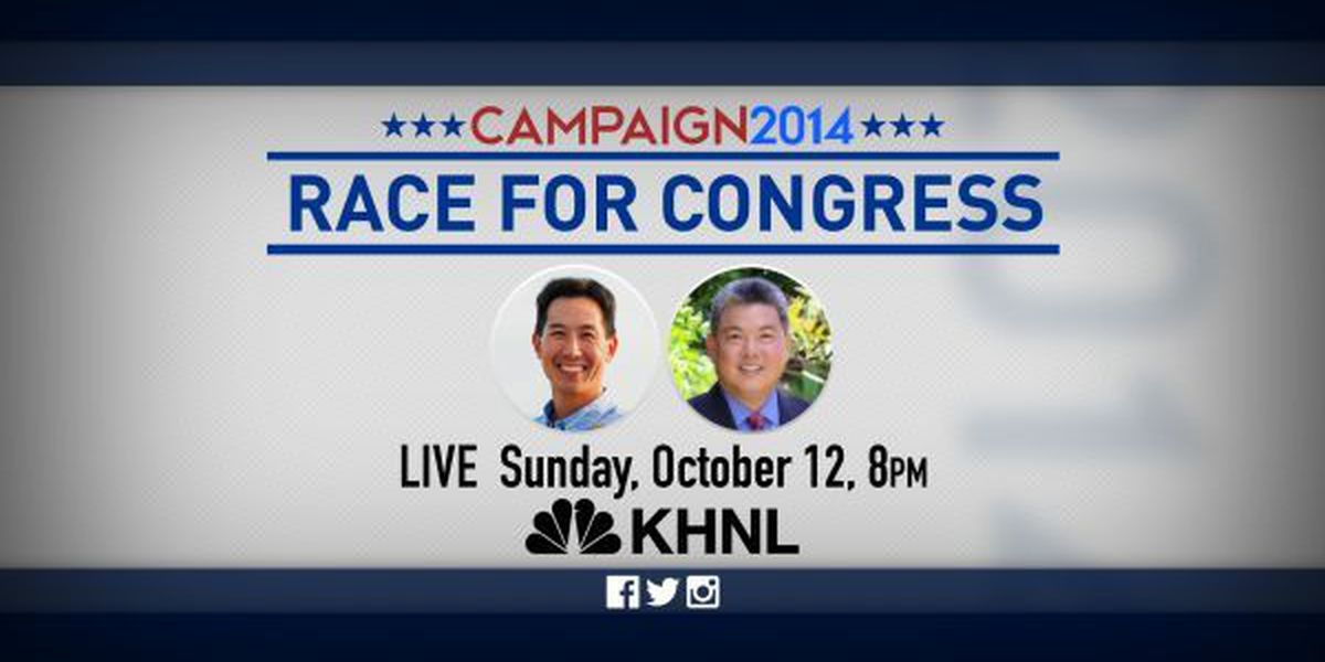 Hawaii News Now to host First Congressional Debate Sunday