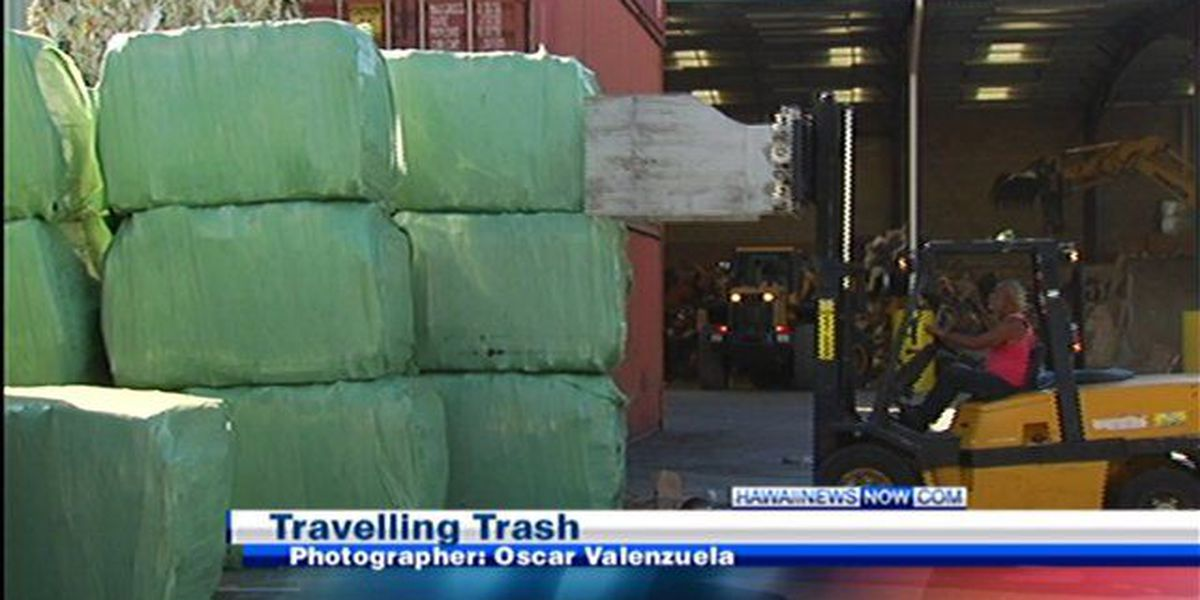 First waste shipment to the mainland delayed