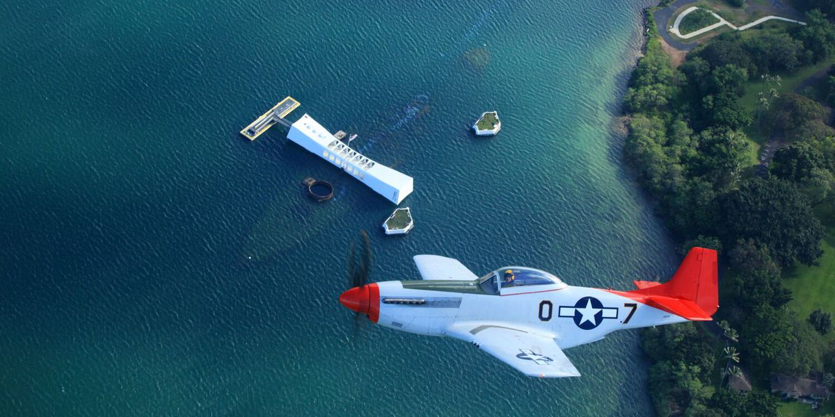 'Wings Over Pearl' experience offers living history flights in a WWII fighter plane