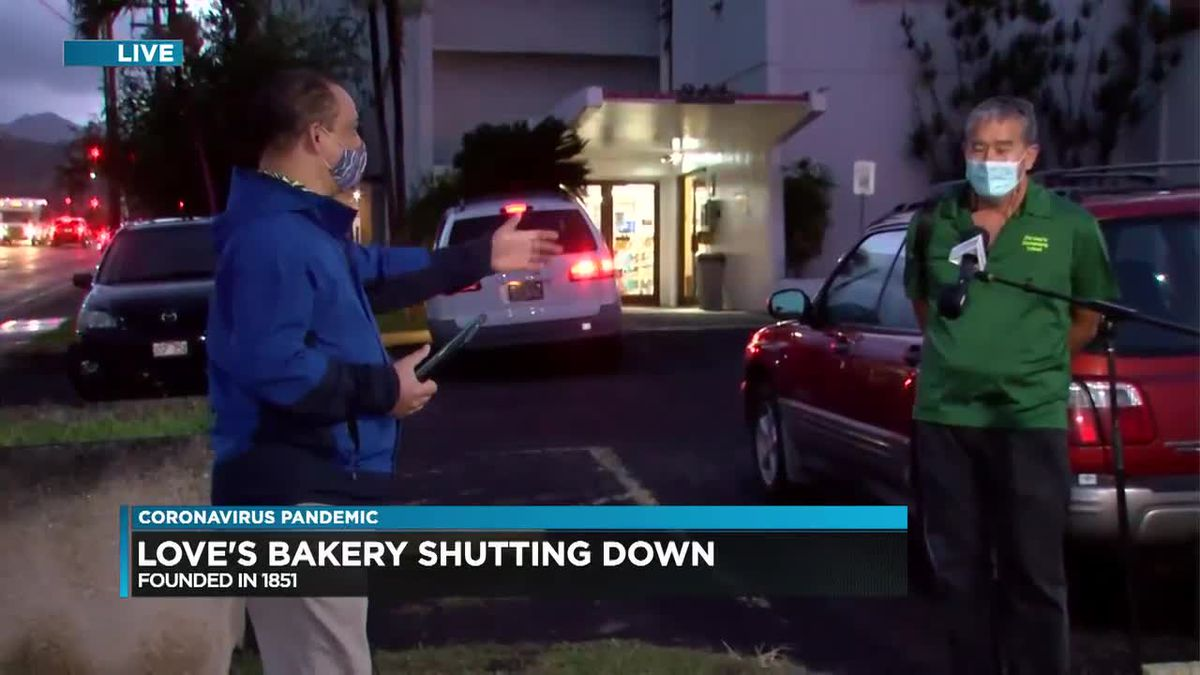 Love's Bakery, a beloved Hawaii institution, to close doors for good after 170 years