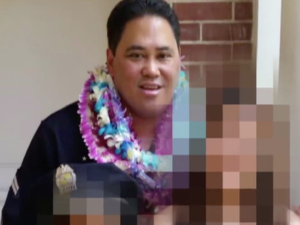 Honolulu police officer with troubled past arrested for felony abuse