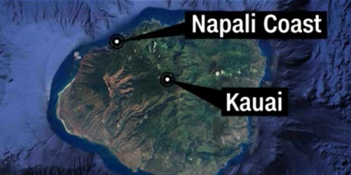 Image result for Remains of 6 aboard Hawaii tour helicopter found after crash