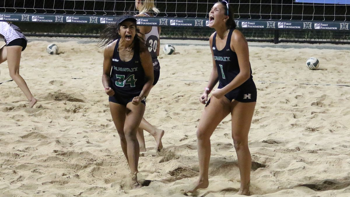 UH beach volleyball falls to Cal Poly in final home series of the season